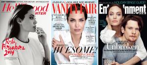 Angelina Jolie Magazine Covers/NY Times