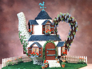 Gingerbread House/Photo; Veronica Romo--Good Housekeeping