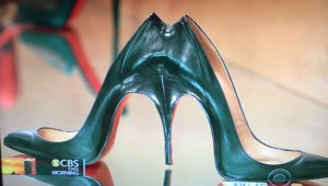 Louboutin Shoes/CBS Morning News