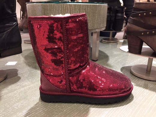 Red Glittery UGG at Nordstrom