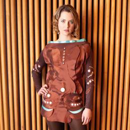 piezoelectric dress courtesy Amanda Parkes/fastcompany.com
