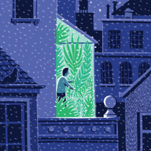 Dominique Browning's Garden Book Review/NY TImes--Illust.: Jon McNaught