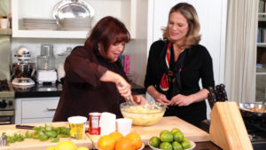 Ina Garten and Serena Altschul on CBS This Morning/Photo; CBS News