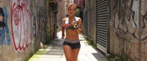 Marathon runner Robin Arzon