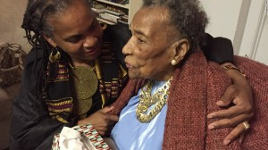 "Watching 'Selma"" with 103-Year-Old Matriach of Movement Amelia Boynton Robinson/CNN"