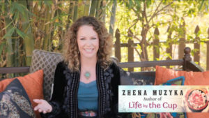 Simon & Schuster author Zhena Muzyka/author Life by the Cup