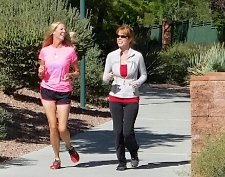 Molly Sheridan, Ultra Marathoner with Stacey Gualandi, TWE Radio host