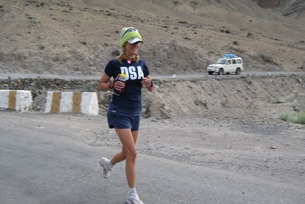 Ultramarathoner Molly Sheridan running/Photo: Molly Sheridan