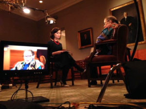 Justice Ruth Bader Ginsburg on MSNBC/Photo: MSNBC