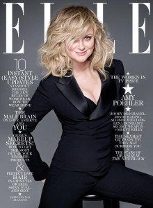 Celebrating Saturday Night Live's Funniest Women/Amy Poehler on ELLE cover