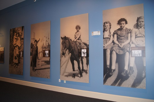 Sandra Day O'Connor travelling exhibit by the Cowgirl Museum and Hall of Fame with permission to TWE