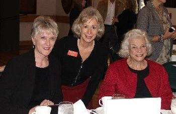 Justices O'Connor and McGregor at Empowerment Luncheon YWCA Phoenix 1/13/15--Photo;: YWCA