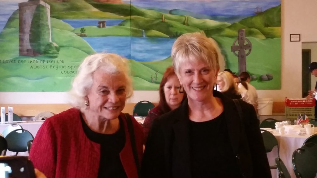 Justices Sandra Day O'Connor and Ruth McGregor at YWCA Luncheon 1/13/15, Phoenix