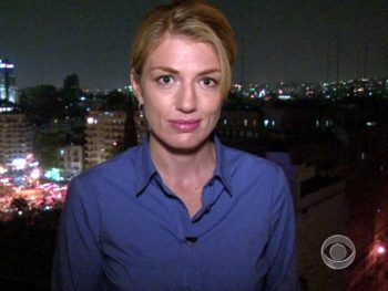 Hollly Wililams, CBS reporter/Photo: CBS