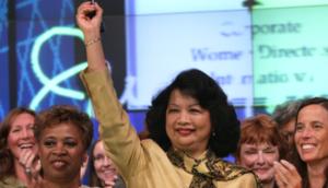 Irene Natividad--President of Global Summit of Women