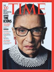 Ruth Bader Ginsburg TIME cover/Photo: Sebastian Kim