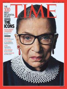 Ruth Bader Ginsburg TIME cover/Photo: Sebastian Kim