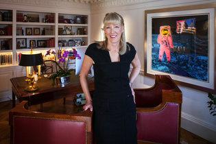 Sonja Hoel Perkins angel investor/Photo: Peter DaSilva for The New York Times: