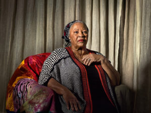 Toni Morrison, best-selling author/Photo: Katy Grannan fo The New York Times