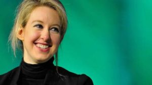 Elizabeth Holmes, founder of Theranos