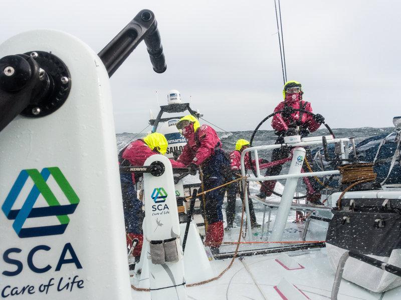 Team SCA sailing around the world/Photo: Anna-Lena Elles/Team SCA
