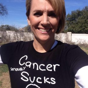 Holley Kitchen, cancer survivor/her website
