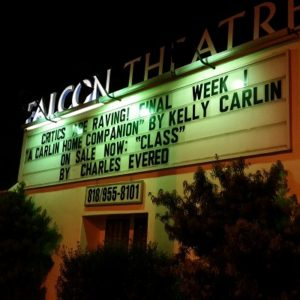 Kelly Carlin show at Falcon Theater
