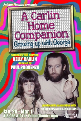 Kelly Carlin theater poster