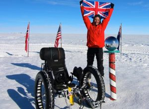 Travel Pioneer Maria Leijerstam, cycler of South Pole/bbc.com