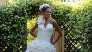 Toilet Paper Wedding Dresses/mashable.com