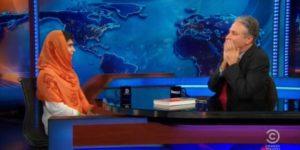 Malala Yousafzai on Jon Stewart's Daily Show