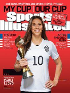 Carli Lloyd, US Soccer Team/SI Cover