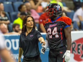 Jen Welter/first NFL Coach for Arizona Cardinals/NY Post