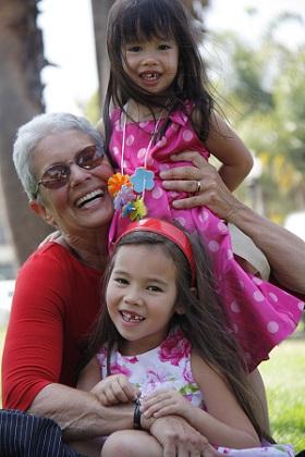 Paola Gianturco with grandchildren/Photo: Paola Gianturco
