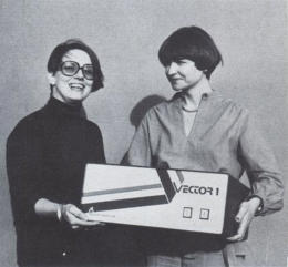 Vector women Lore Harp and Carole Ely/Photo in Fast Company article