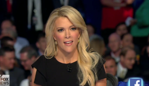 Megyn Kelly at GOP Debate, Aug. 2015--Photo: Screenshot
