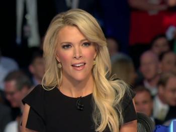 Megyn Kelly at GOP Debate, Aug. 2015--Photo: Screenshot
