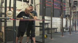 Constance Tillet, CrossFit athlete at 77/Photo: CBS News
