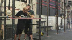Constance Tillet, CrossFit athlete at 77/Photo: CBS News