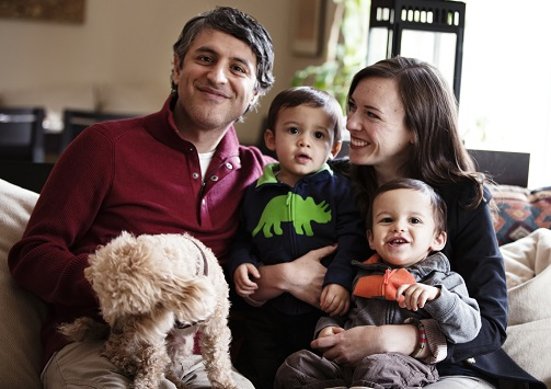 Jessica Jackley and family, author CLAY WATER BRICK/Photo Courtesy Jessica Jackley
