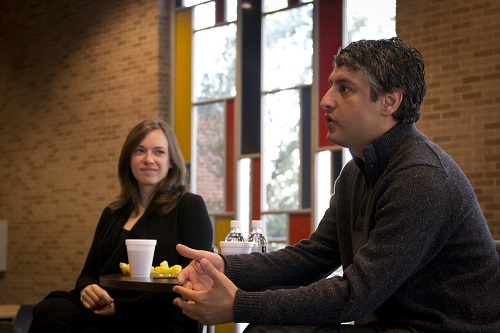 Jessica Jackley, author CLAY WATER BRICK with husband Reza/Photo Courtesy Jessica Jackley