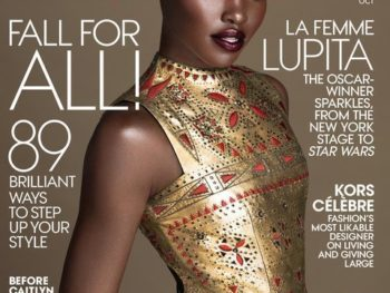 Lupita Nyong'o's Second Vogue Cover