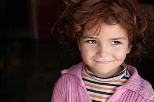 Barbara Massaad photo of young child at Bekaa Refugee Camp, Lebanon/Photo: Barbara Massaad