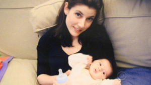 Lauren Safran who struggled with postpartum depression/Photo: CBS News