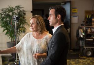 Mimi Leder, Justin Theroux, The Leftovers/Photo: Scott Redin, HBO
