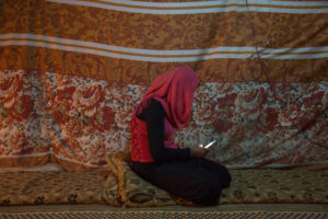 Syrian Teen Refugee Fatmeh/Photo: Dalia Khamissy for NPR