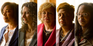 Detroit Businesswomen who teamed up to get Rape Kits tested/Photo: Laura McDermott for The New York Times