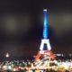 Eiffel Tower Lit Up 11/16/15/CNN Screenshot