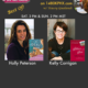 """On TWE Radio: Authors Holly Peterson with her book, """"The Idea of Him,"""" and Kelly Corrigan, shown with her memoir, """"Glitter and Glue"""""""