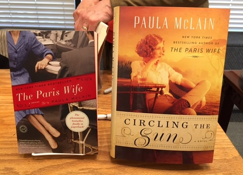 Paula McLain books/Photo: Pam Burke